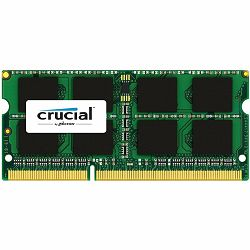 Crucial DRAM 8GB DDR3L 1866 MT/s  (PC3-14900) CL13 SODIMM 204pin 1.35V for Mac, EAN: 649528775283