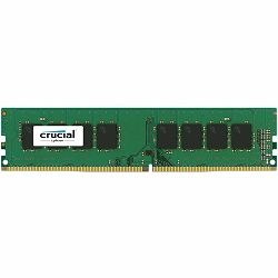 Crucial DRAM 8GB DDR4 2400 MT/s (PC4-19200) CL17 SR x8 Unbuffered DIMM 288pin Single Ranked, EAN: 649528776389
