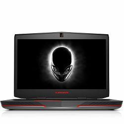 Notebook Alienware 17 17.3 FHD (1920x1080) IPS, i7-6820HK(8MB, up to 4.1GHz), 16GB, 256GB SSD+1TB, GeForce GTX 980M 4GB, noDVD, WiFi, BT, Miracast, FHDcam, Mic, 1xUSB3.0PWS, 2xUSB3.0, 1xUSB-C, HDMI,