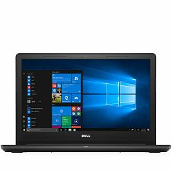 DELL Notebook Inspiron 3567 15.6 HD (1366x768), Intel Core i7-7500U (4M, up to 3.5 GHz), 8GB, 256GB SSD, AMD Radeon R5 M430 2GB, DVDRW, WiFi, BT, RJ-45, Miracast, HD Cam, Mic, USB2.0, 2xUSB3.0, HDMI