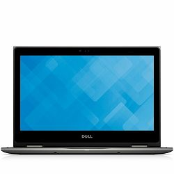 DELL Notebook Inspiron 5378 2-in-1 13.3 FHD(1920x1080)TOUCH, Intel Core i3-7100U(3M, up to 2.4 GHz), 4GB, 256GB SSD, Intel HD620, noDVD, WiFi, BT, WiDi, Miracast, IR Cam, Mic,USB3.0,USB2.0,USB3.0 PW