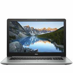 DELL Notebook Inspiron 5770 17.3 FHD (1920x1080), Intel Core i7-8550U(8MB Cache, up to 4.0 GHz), 16GB, 2TB+256GB SSD, AMD Radeon 530 4GB, DVDRW,WiFi, BT, Miracast, RJ-45, HD Cam, Mic, 2xUSB 3.1, USB-C