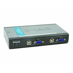 4-Port Video+USB Switch, With 2 KVM cables