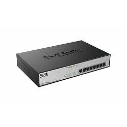 8-Port 10/100/1000Mbps Desktop Switch Gigabit PoE+