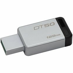Kingston  128GB USB 3.0 DataTraveler 50 (Metal/Black), EAN: 740617255812