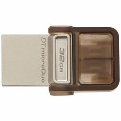 Kingston  32GB DT MicroDuo USB 3.0 + microUSB (Android/OTG), EAN: 740617230789