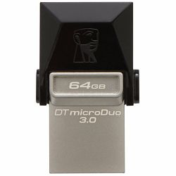 Kingston  64GB DT MicroDuo USB 3.0 + microUSB (Android/OTG), EAN: 740617230833