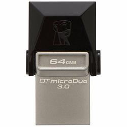 Kingston  64GB DT MicroDuo USB 3.0 + microUSB (Android/OTG), EAN: 740617230833