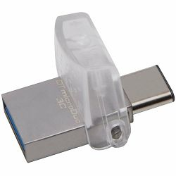 Kingston USB 128GB DT microDuo 3C, USB 3.0/3.1 + Type-C flash drive, EAN: 740617262551