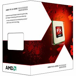 AMD CPU Desktop FX-Series X6 6100 (3.3/3.9GHz,14MB,95W,AM3+) box