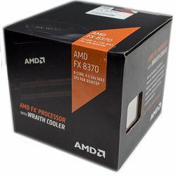 AMD CPU Desktop FX-Series X8 8370 (4.3GHz,16MB,125W,AM3+ with quiet Wraith Cooler ) box