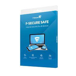 F-Secure SAFE licenca 6 mjeseci, 3 uređaja, kutija