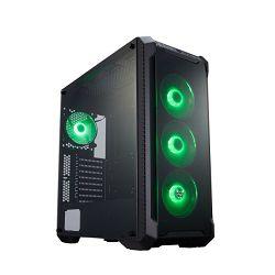 Fortron CMT 520 TG, RGB, crno sa staklom,bez napaj