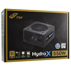 Fortron napajanje HydroX PSU 550W,80+ GOLD