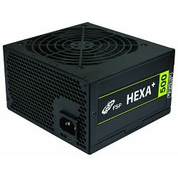 Fortron napajanje Hexa Plus 500W 80+,active,12 cm