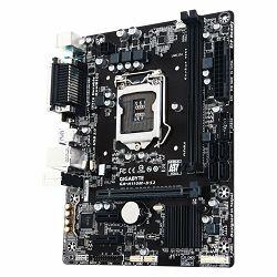 GIGABYTE Main Board Desktop INTEL H110 (Socket LGA1151,2xDDR4,VGA,1xPCIEX16/2xPCIEX1,USB3.0/USB2.0, 4xSATA III,LAN) micro ATX retail