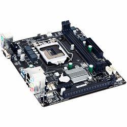 GIGABYTE Main Board Desktop iH81 (S1150,DDR3,VGA,USB3.0/USB2.0,LAN,SATAIII/SATAII) mATX Retail