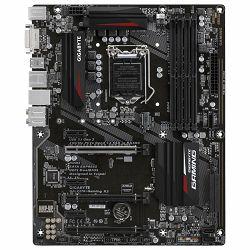 GIGABYTE Main Board Desktop INTEL Z270 (Socket LGA1151, 4xDDR4, HDMI,DVI-D, 1xPCIEX16/2xPCIEX4/3xPCIEX1, USB3.1/USB3.0/USB2.0, 6xSATA III/2xSATA Express/1xM.2 socket3, LAN) ATX bulk