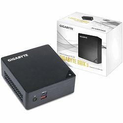 GIGABYTE BRIX kit Intel Core i3-7100U, 2xDDR4 SODIMM (max 32GB), 2.5