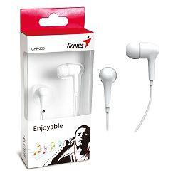 Genius HS-GHP206W, in-ear slušalice,bijele