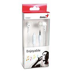 Genius HS-M225W,in-ear slušalice,bijele