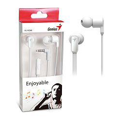 Genius HS-M260W,in-ear headset,bijele