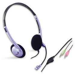 Genius Head Set 02B, slušalice+mikrofon