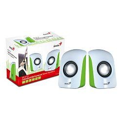Genius zvučnici SP-U115, 1.5W, USB, bijeli