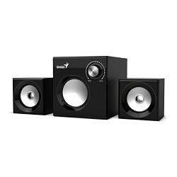 Genius zvučnici SW-2.1 370B,SPK,crni