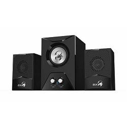 Genius zvučnici SW-G2.1 500, 220V, subwoofer,crn