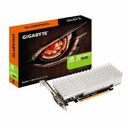 Gigabyte GF GTX 1030, 2GB GDDR5, Silent LP