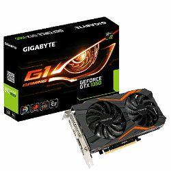 Gigabyte GF GTX1050 G1 GAMING, 2GB GDDR5