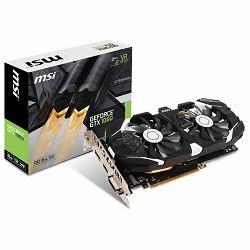 MSI Video Card GeForce GTX 1060 OC GDDR5 6GB/192bit, 1544MHz/8008MHz, PCI-E 3.0 x16, DP, HDMI, DVI-D, Sleeve 2X Fan Cooler (Double Slot), Retail