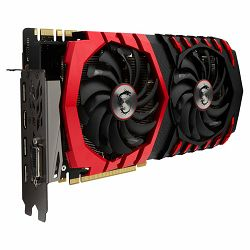 MSI Video Card GeForce GTX 1070 GAMING X GDDR5 8GB/256bit, 1582MHz/8010MHz, PCI-E 3.0 x16, 3xDP, HDMI, DVI-D, Twin Frozr VI Cooler (Double Slot), Backplate, Retail