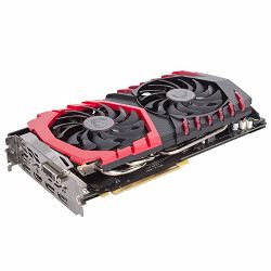 MSI Video Card GeForce GTX 1080 GAMING X+ GDDR5X 11Gbps 8GB/256bit, 1683MHz/11010MHz, PCI-E 3.0 x16, 3xDP, HDMI, DVI-D, Twin Frozr VI Cooler LED(Double Slot), Backplate, Retail