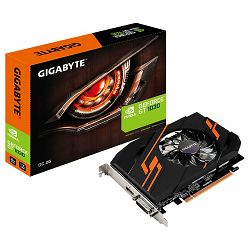 GIGABYTE Video Card GeForce GT 1030 OC GDDR5 2GB/64bit, 1265MHz/6008MHz, PCI-E 3.0 x16, HDMI, DVI-D, Cooler, Retail