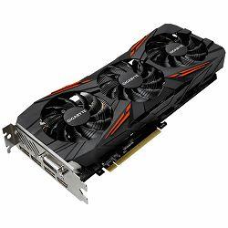GIGABYTE Video Card GeForce GTX 1070 Ti GAMING GDDR5 8GB/256bit, 1670MHz/8168MHz, PCI-E 3.0 x16, HDMI, DVI-D, 3xDP, WINDFORCE STACK 3X Cooler,RGB (Double Slot), Backplate, Retail