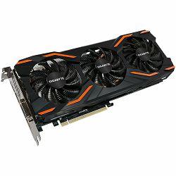 GIGABYTE Video Card GeForce GTX 1080 GDDR5X 8GB/256bit, 1632MHz/10010MHz, PCI-E 3.0 x16, HDMI, DVI-D, 3xDP, WINDFORCE 3X Cooler(Double Slot), Retail