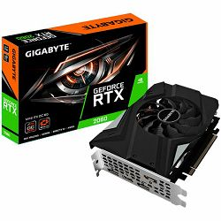 GIGABYTE Video Card NVidia GeForce RTX 2060 OC GDDR6 6GB/192bit, 1xxxMHz/14000MHz, PCI-E 3.0 x16, HDMI, 3xDP, mini-ITX Cooler(Double Slot), Retail