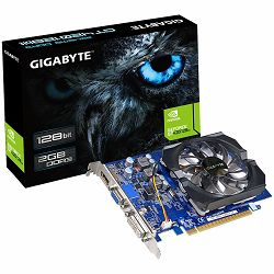 GIGABYTE Video Card GeForce GT 420 DDR3 2GB/128bit, 700MHz/1600MHz, PCI-E 3.0 x16, HDMI, DVI-I, VGA, Cooler, Retail