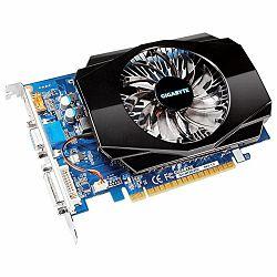 GIGABYTE Video Card GeForce GT 730 GDDR3 2GB/128bit, 700MHz/1600MHz, PCI-E 2.0 x16, HDMI, DVI-I, VGA, Cooler(Double Slot), Retail