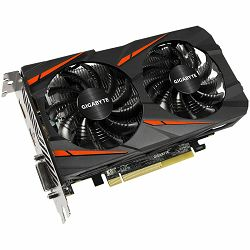 GIGABYTE Video Card AMD Radeon RX460 GDDR5 4GB/128bit, 1212MHz/7000MHz, PCI-E 3.0, DP, HDMI, DVI-D, WINDFORCE 2X Cooler(Double Slot), Retail