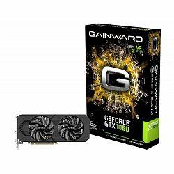 Gainward Video Card GTX1060 6GB Dual Fan 192B GDDR5 DVI 3*DP HDMI