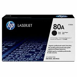 HP 80A Black LaserJet Toner Cartridge #