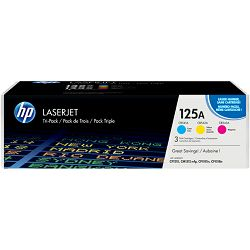 HP 125A 3-pack Cyan/Yellow/Magenta Original LaserJ