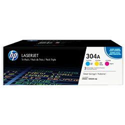 HP 304A 3-pack Cyan/Magenta/Yellow Original LJ Ton