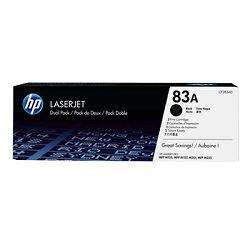 HP 83A Black LaserJet Toner Cartridge 2-pack