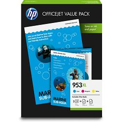 HP 953XL CMY Ink Cartridge OVP Pack
