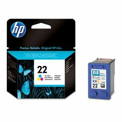 HP 22 Inkjet tri-colour Cartri