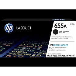 HP 655A Black Original LaserJet Toner Cartridge